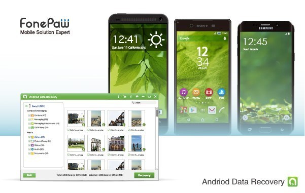 FonePaw Android Data Recovery 2.9.0 Crack + Keygen Full Download