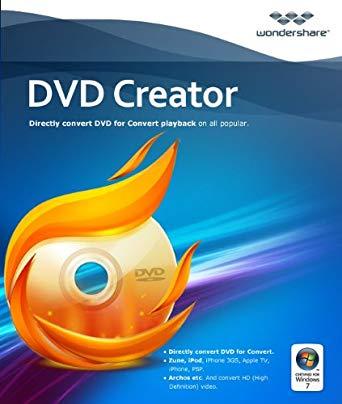 Wondershare DVD Creator 6.2.2 Crack + Activation Key Free All